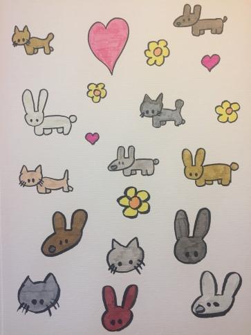 Kitties and Bunnies