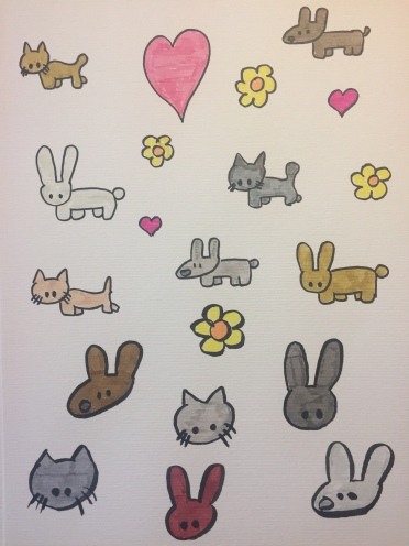 Kitties and Bunnies