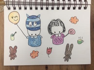 Sho-chan and Yui-chan