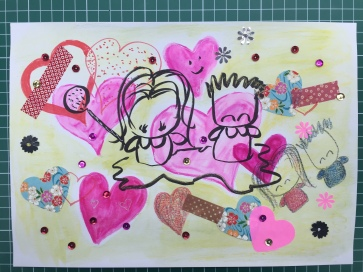 Love in Mixed Media