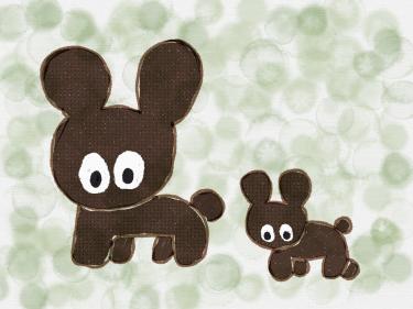 Baby Bear and Mama