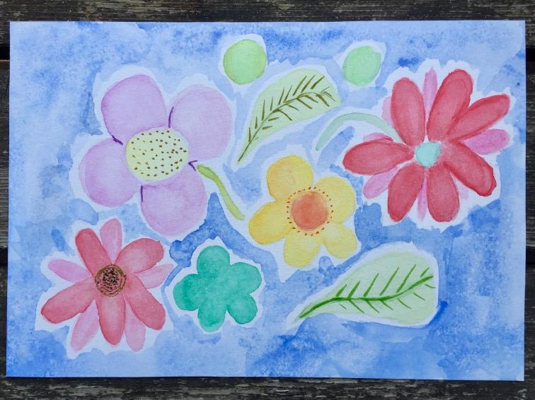 Gansai Flowers