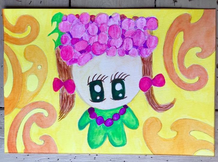Grapillion the Grape Girl