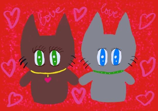 Kitties in Love