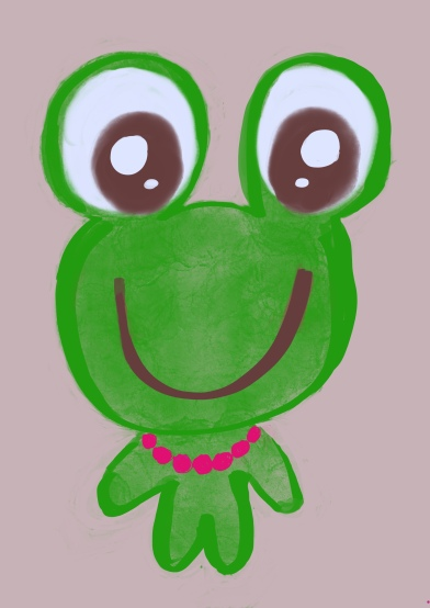 Lil Green Frog