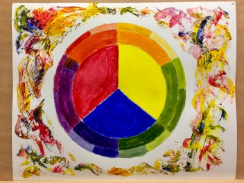 Colour Theory with Acrylic Paint