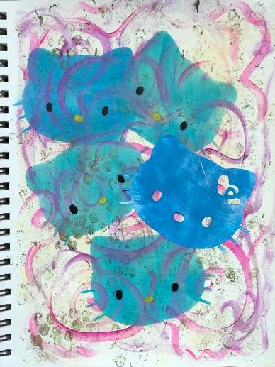 Hello Kitty Blues