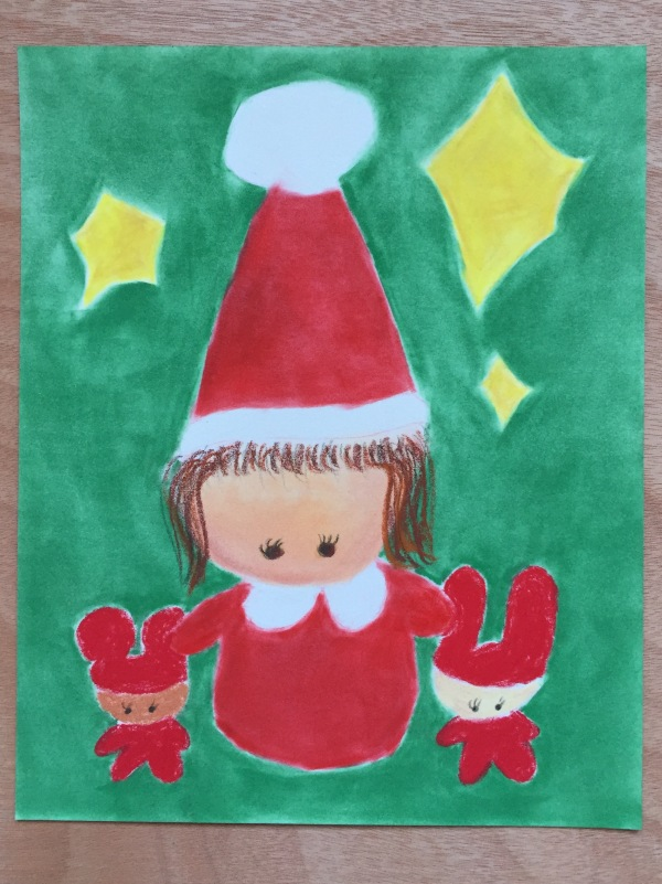 Kawaii Santa & Lil Helpers