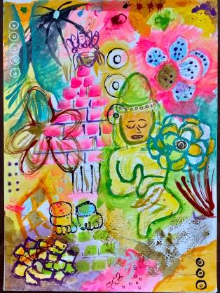 My Green Buddha